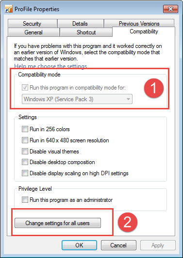 Quickbooks Software Use in Compatibility Mode