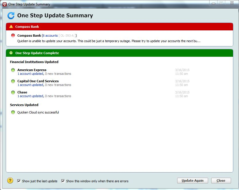 Install the Latest Release of Quicken
