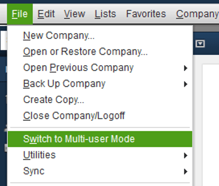"""""""Switch to Multi-User mode."""""""