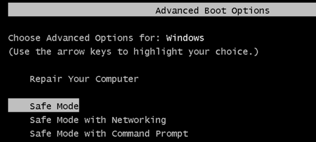 Rebooting in Safe Mode to fix Quickbooks Error ps033
