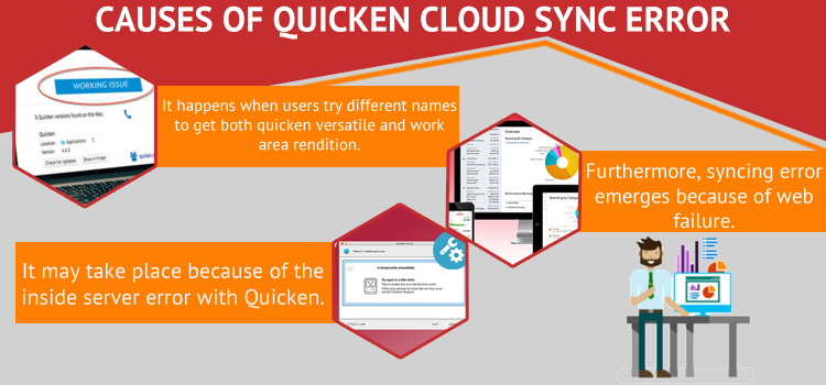 Causes of Error During Quicken Cloud Sync